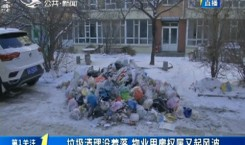 第1报道|垃圾清理没着落 物业用房权属又起风波