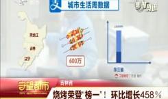 """守望都市 吉林省:燒烤榮登""""榜一""""! 環比增長458%"""