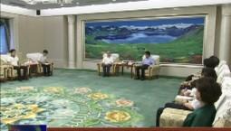 巴音朝鲁会见全国人大常委会副委员长 民盟中央主席丁仲礼