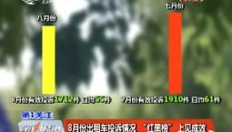"""长春市公布8月份出租车投诉情况  """"红黑榜""""上见成效"""