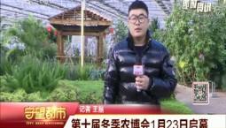 守望都市|第十届冬季农博会1月23日启幕