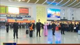 春运首日 延吉西站推出民俗体验