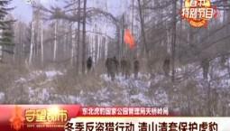 守望都市|冬季反盗猎行动 清山清套保护虎豹