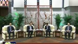 巴音朝鲁 景俊海会见芬兰驻华大使肃海岚
