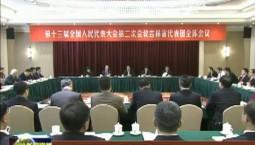 吉林代表团审议外商投资法草案
