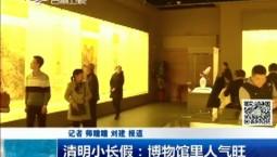 新闻早报|清明小长假:博物馆里人气旺
