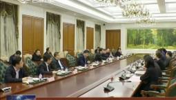 景俊海与部分上海企业家举行会谈