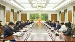 景俊海與中國工程院院士趙春江舉行會談