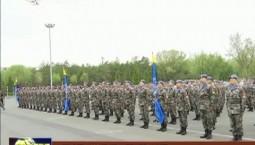 中国第7批赴马里维和部队出征