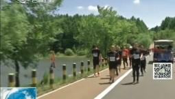新闻早报|2019中国长春净月潭国际森林马拉松鸣枪开赛
