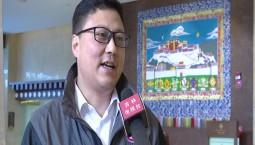第七批援藏干部丁川接受记者采访