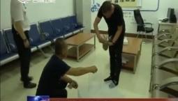 高铁珲春站救助受伤猫头鹰幼崽