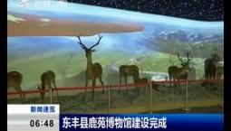 新闻早报 东丰县鹿苑博物馆建设完成