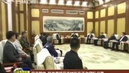 巴音朝鲁 景俊海接见吉林彩车工作团队代表