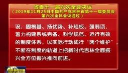 省委十一届六次全会决议