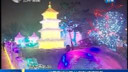 第1报道|长春南湖公园 冰雕彩灯迎新年