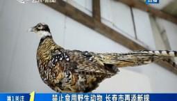 第1报道|禁止食用野生动物 长春市再添新规