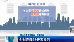 新闻早报|全省连续29天零报告