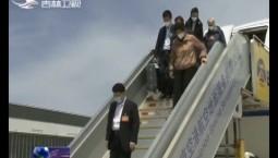 出席十三届全国人大三次会议的我省全国人大代表今天抵京