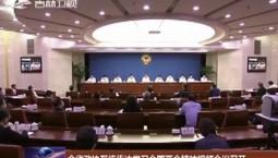 全省政协系统传达学习全国两会精神视频会议召开