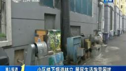第1报道|小区楼下烟道林立 居民生活饱受困扰
