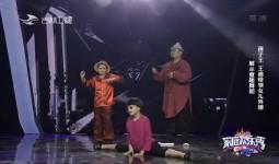 家庭欢乐秀_孩子王 王迪带领女儿外甥展示童趣舞蹈