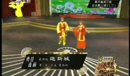 二人转总动员|勇往直前:孙龙 夏思雨表演唱《逛新城》