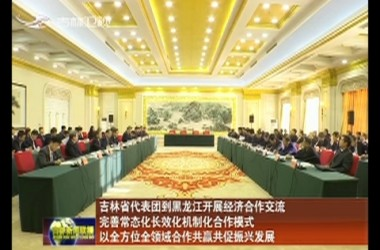 吉林省代表团到黑龙江开展经济合作交流 完善常态化长效化机制化合作模式 以全方位全领域合作共赢共促振兴发展