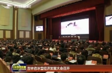 吉林省冰雪經濟發展大會召開