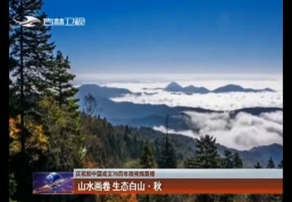 【庆祝新中国成立70周年微视频展播】山水画卷 生态白山� 秋
