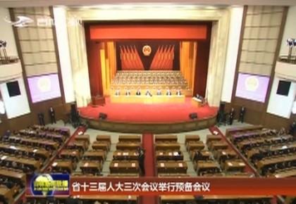 吉林省十三屆人大三次會議舉行預備會議
