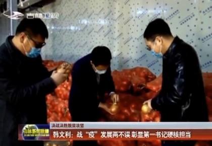 """【决战决胜脱贫攻坚】韩文利:战""""疫""""发展两不误 彰显第一书记硬核担当"""
