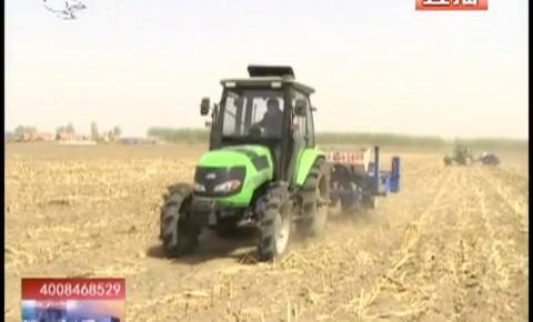 乡村四季12316_机械耕种助春耕
