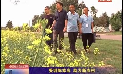 乡村四季12316_受训陈家店  助力新农村