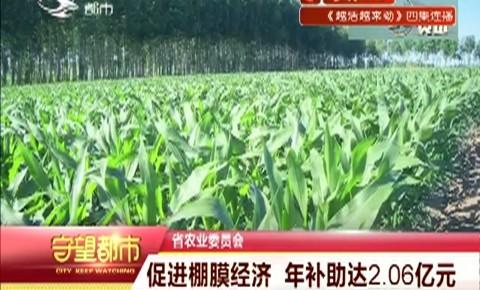 省农业委员会|促进棚膜经济 年补助达2.06亿元