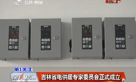 吉林省电供暖专家委员会正式成立