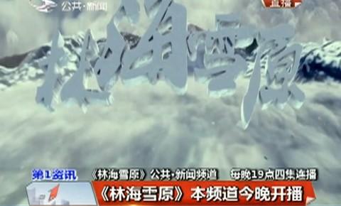 第1报道 |《林海雪原》公共·新闻频道12日晚开播