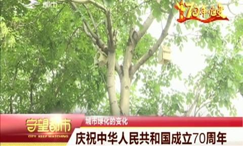 守望万博官网manbetx客户端|庆祝中华人民共和国成立70周年——城市绿化的变化