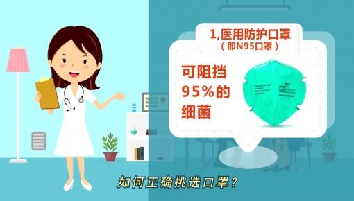 【预防新型冠状病毒感染】如何正确挑选口罩?