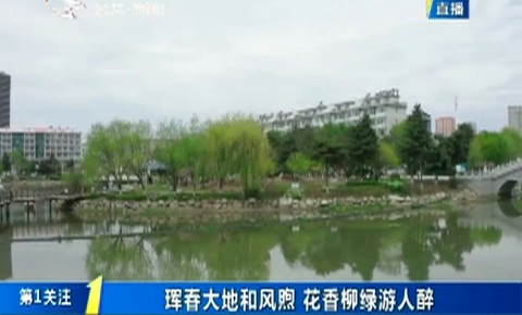 第1报道|珲春大地和风煦 花香柳绿游人醉
