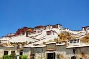 布达拉宫 不由自主的虔诚