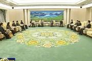 巴音朝鲁 蒋超良会见中国人民银行副行长胡晓炼
