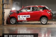 无明显弱点 广汽丰田致炫C-NCAP碰撞解析