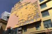 长春7日夜晚瞬间风力达8级 市内出现多起建筑物被损事故