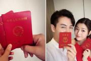 陈妍希、陈晓今日合肥领证 恰男方28岁生日
