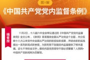 党员领导干部看这里!一图读懂《中国共产党党内监督条例》