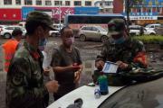 吉林市武警紧急救治受伤群众