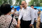 刘国中到松原指导灾后重建工作时强调 坚持以人民为中心的发展思想 坚决夺取抗震抗洪救灾全面胜利