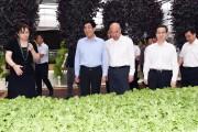 展示农业科技成果 引领现代农业发展 巴音朝鲁刘国中参观长春农博会展馆展区