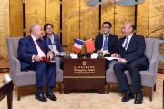 扩大友好交流 促进合作共赢 我省与法国滨海夏朗德省签署合作协议